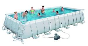 BESTWAY montažni bazen s filter pumpom i ljestvama - 732 x 366 x 132 cm