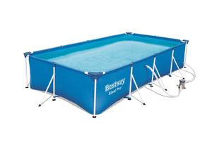 BESTWAY montažni bazen s filtar pumpom (400 x 211 x 81 cm)