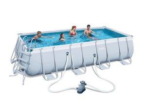 BESTWAY montažni bazen s filter pumpom i ljestvama - 549 x 274 x 122 cm
