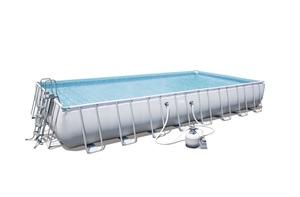 BESTWAY montažni bazen s filter pumpom i ljestvama - 956 x 488 x 132 cm