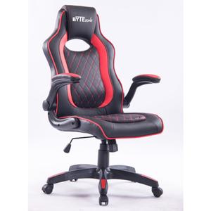 ByteZone Sniper gaming stolica, crno/crvena