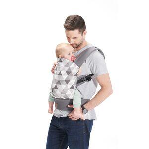 Kinderkraft nosiljka za bebe NINO siva