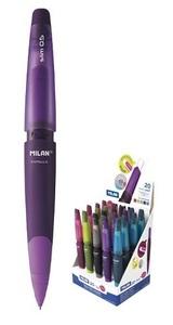 Tehnička olovka  0,5+gumica MILAN CAPSULE SLIM, ljubičasta