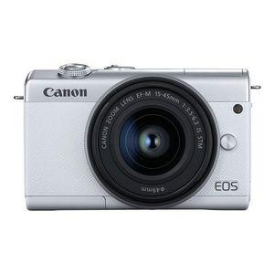 Canon Mirrorless Camera EOS M200 WH M15-45