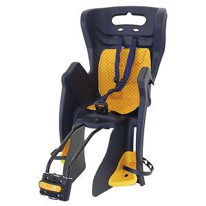 MS dječja sjedalica stražnja na ramu FIX W  BLACK/YELLOW 259852