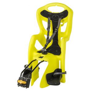 MS dječja sjedalica stražnja na ramu LIGHT N NEON YELLOW 259873