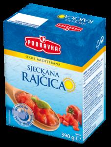 PODRAVKA Sjeckana rajčica, TR 390 g