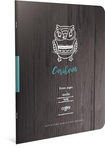 Bilježnica Coffee Book, A4, kvadratići, meke korice