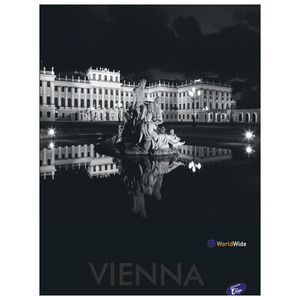 Bilježnica Cities by night, A4, kvadratići, plastificirane k