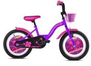 CAPRIOLO dječji bicikl BMX 20'HT VIOLA rozo/ljubičasta
