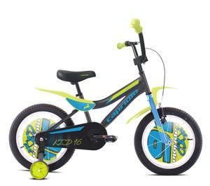 CAPRIOLO dječji bicikl BMX 16'HT KID plavo/zeleni
