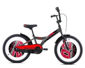 CAPRIOLO dječji bicikl BMX 20'HT MUSTANG sivo/crveni