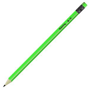 Grafitna olovka Neon Colorino zelena