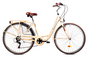 CAPRIOLO gradski bicikl TOUR-DIANA CITY 28'/6HT bež