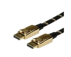 Roline GOLD DisplayPort kabel, DP M/M, 2.0m