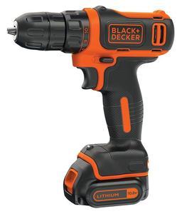 BLACK & DECKER akumulatorska bušilica BDCD12