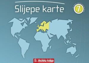 SLIJEPE KARTE za 7. razred osnovne škole:  EUROPA