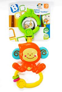 Bkids Zvečka i grickalica bebee majmun