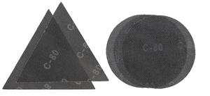 EINHELL set brusnih papira 5/1 (gr. 2x80, 2x80 tr., 1x120), Ø 225, za TE-DW 225 X