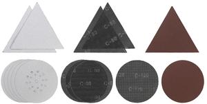 EINHELL set brusnih papira 15/1 (gr. 8x80, 5x80 tr., 2x120), Ø 225, za TE-DW 225 X