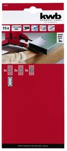 EINHELL set brusnih papira 15/1 (gr. 40/80/120), 230x115mm, za TE-OS 2520 E, TE-OS 18/230 Li