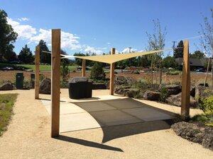 Tenda (sjenilo) zaštita od sunca kvadrat   3.6 x 3.6 m - Boja pijeska