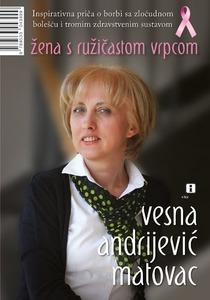 Žena s ružičastom vrpcom, Andrijević Matovac, Vesna