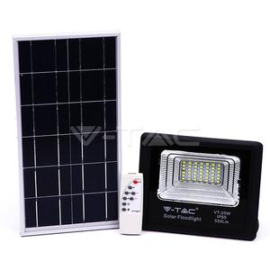 V-TAC 12W LED solarni reflektor s daljinskim upavljačem 6000K