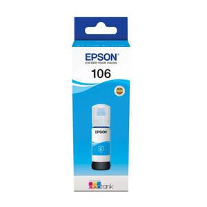 Tinta Epson 106 EcoTank Cyan L7160/7180, C13T00R240