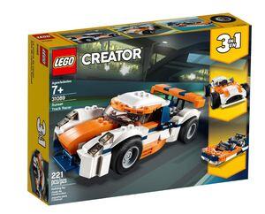 LEGO Creator Trkaći auto boje zalaska 31089