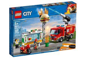 LEGO City Spašavanje pečenjarnice od požara 60214