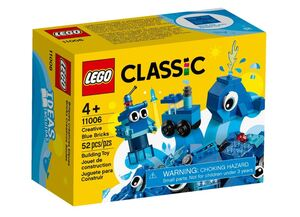 LEGO Classic Kreativne plave kocke 11006