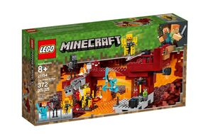 LEGO Minecraft Plameni most 21154