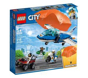 LEGO City Uhićenje padobranca s nebeskom policijom 60208