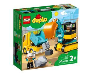 LEGO DUPLO Kamion i bager gusjeničar 10931