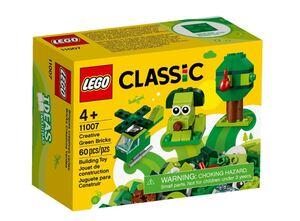 LEGO Classic Kreativne zelene kocke 11007
