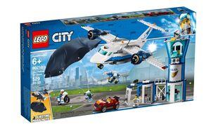 LEGO City Zračna baza nebeske policije 60210