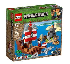 LEGO Minecraft Pustolovina na gusarskom brodu 21152