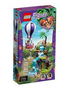LEGO Friends Spašavanje tigra balonom u džungli 41423