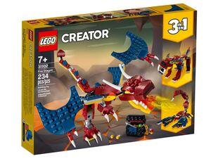 LEGO Creator Vatreni zmaj 31102