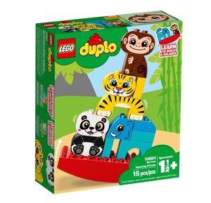 LEGO DUPLO Moja prva životinjska piramida 10884