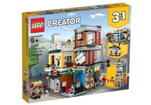 LEGO Creator Dućan za kućne ljubimce i kafić Gradska kuća 31097