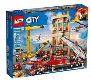 LEGO City Vatrogasna brigada u centru 60216
