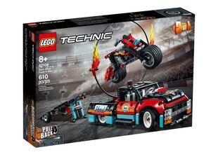 LEGO 42106 Akrobatski kamion i motocikl