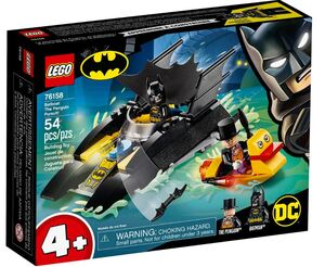 LEGO Super Heroes Potjera za Pingvinom u Batčamcu! 76158