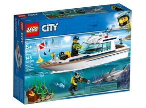 LEGO City Ronilačka jahta 60221