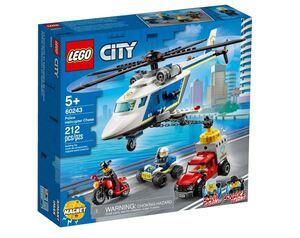 LEGO City Policijska potjera u helikopteru 60243