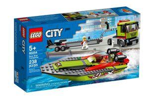 LEGO City Kamion za prijevoz trkaćeg čamca 60254