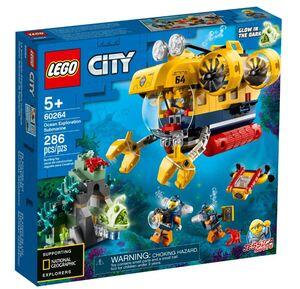 LEGO City Podmornica za istraživanje oceana 60264