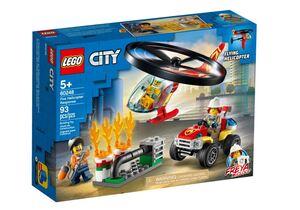 LEGO City Vatrogasni helikopter na djelu 60248